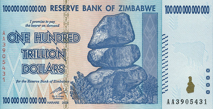 zimbabwe money