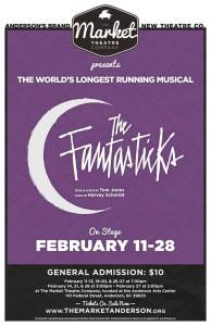 The Fantasticks at Market Theatre Company in Anderson @ Anderson Arts Center   Anderson   South Carolina   United States