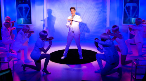 """REVIEW Soylent White: NC Stage Boldy Explores """"Brave New World"""" in Premiere Musical"""