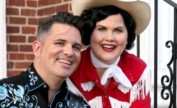 "Larry and Katie Rockwell in ""Always...Patsy Cline."" Photo by Escobar Photography."