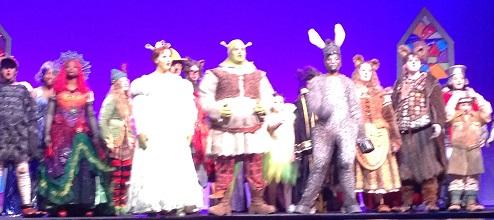 REVIEW: Dorman High School Serves Splendid Fairy Tale Production of 'Shrek'
