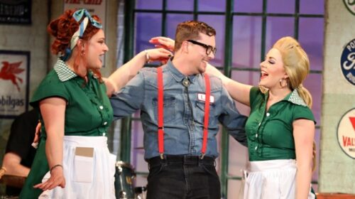 REVIEW: Mill Town Players Sell Hi-Octane Fun in 'Pump Boys and Dinettes'
