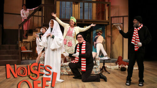 REVIEW: Laughs Are in Boundless Supply in 'Noises Off' at Centre Stage