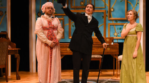 REVIEW: Warehouse Theatre's 'Pride and Prejudice' is Indulgent, Whimsical Masterpiece