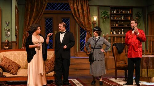 REVIEW: Comedy is Afoot in Greenville Theatre Murder Mystery