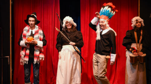 REVIEW: Warehouse Theatre's 'The Thanksgiving Play'