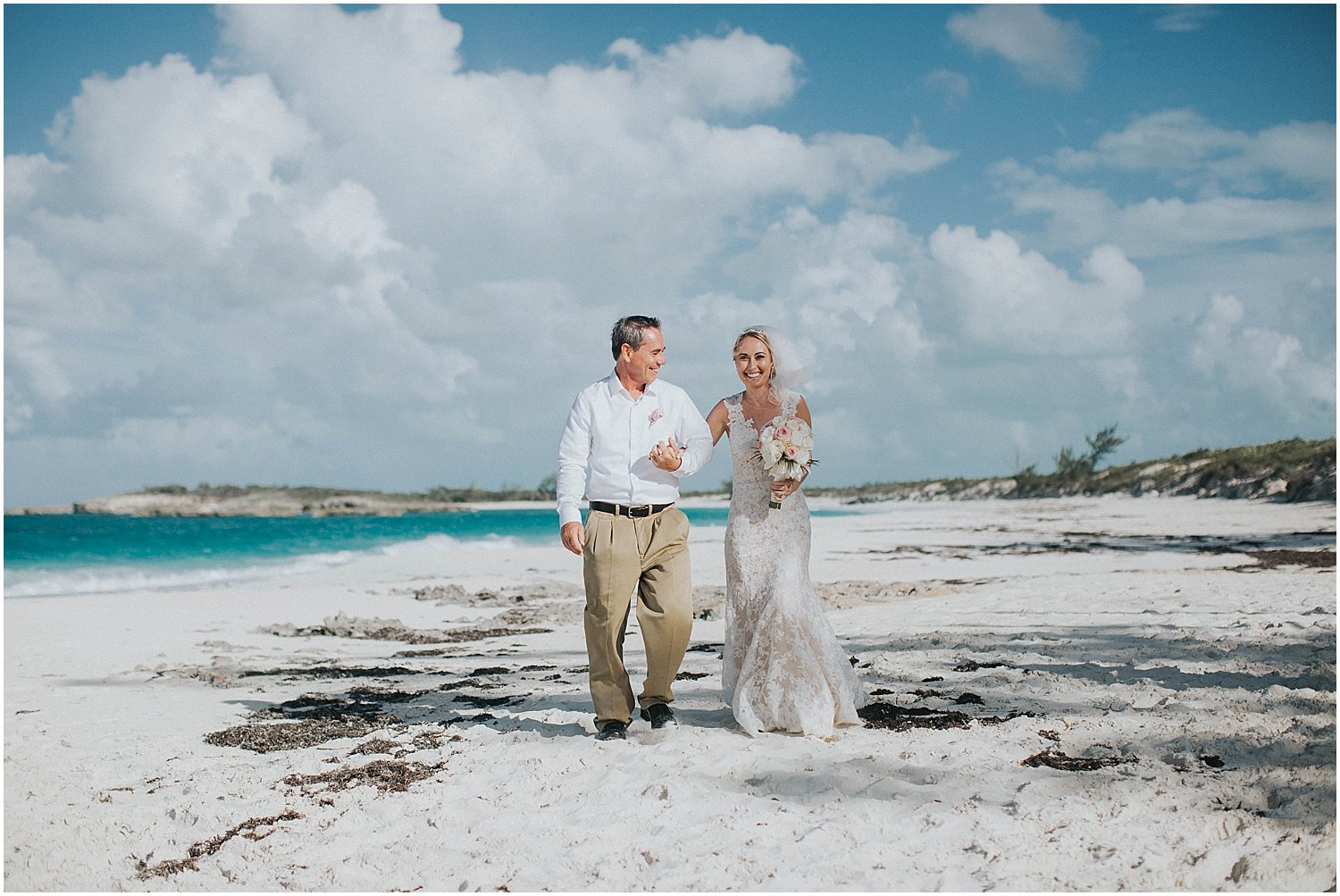 bahamas destination beach wedding