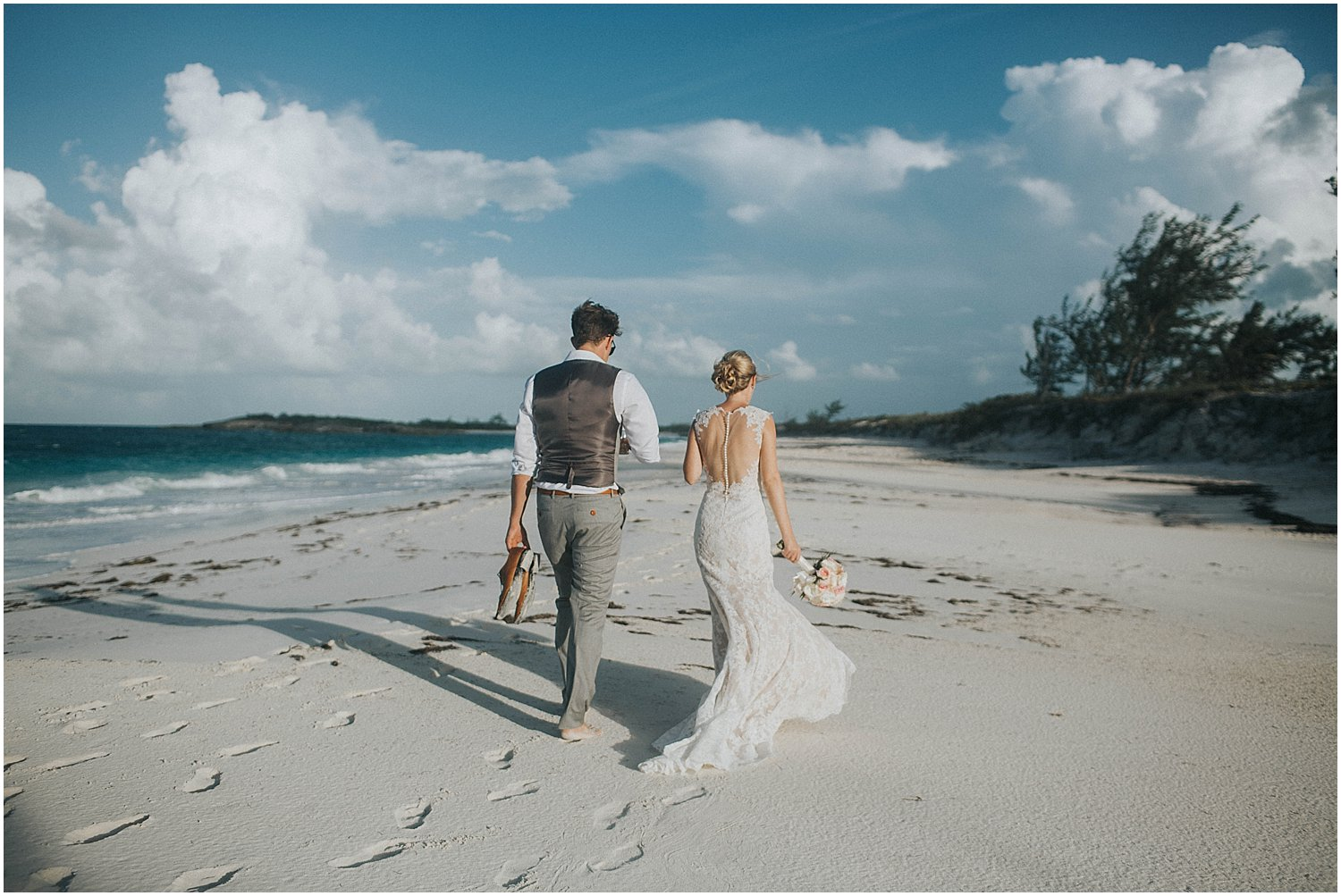 bahamas intimate wedding