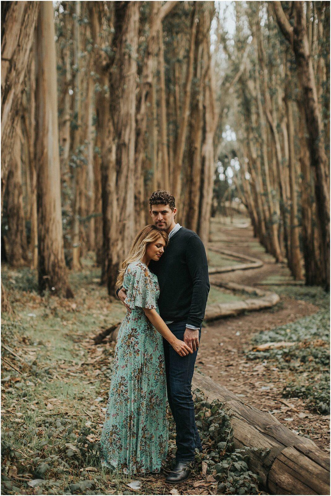 lovers lane california engagement