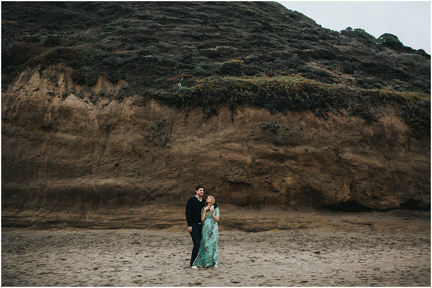bakers beach san fransisco engagement session
