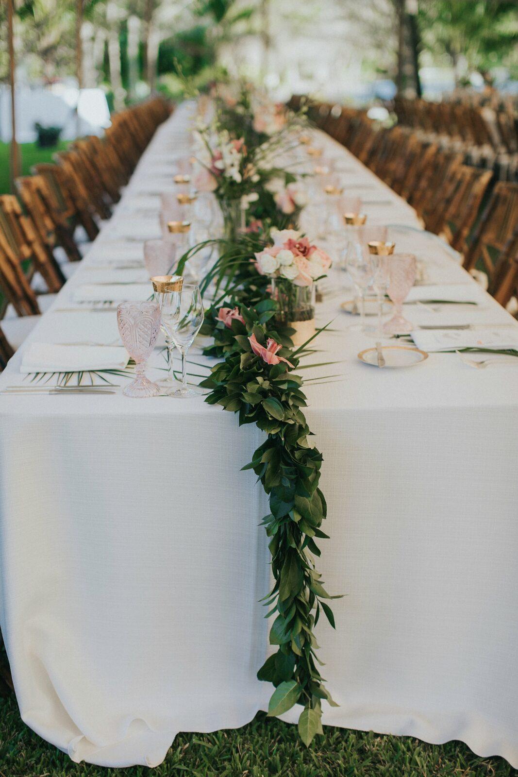 florida tropical garden wedding
