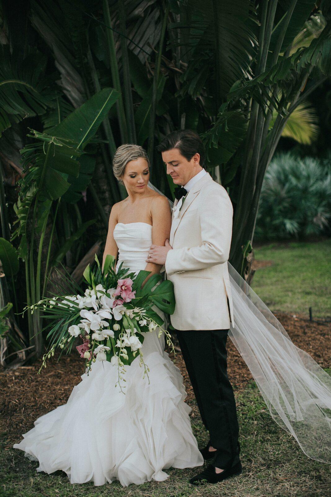 florida sculpture garden wedding