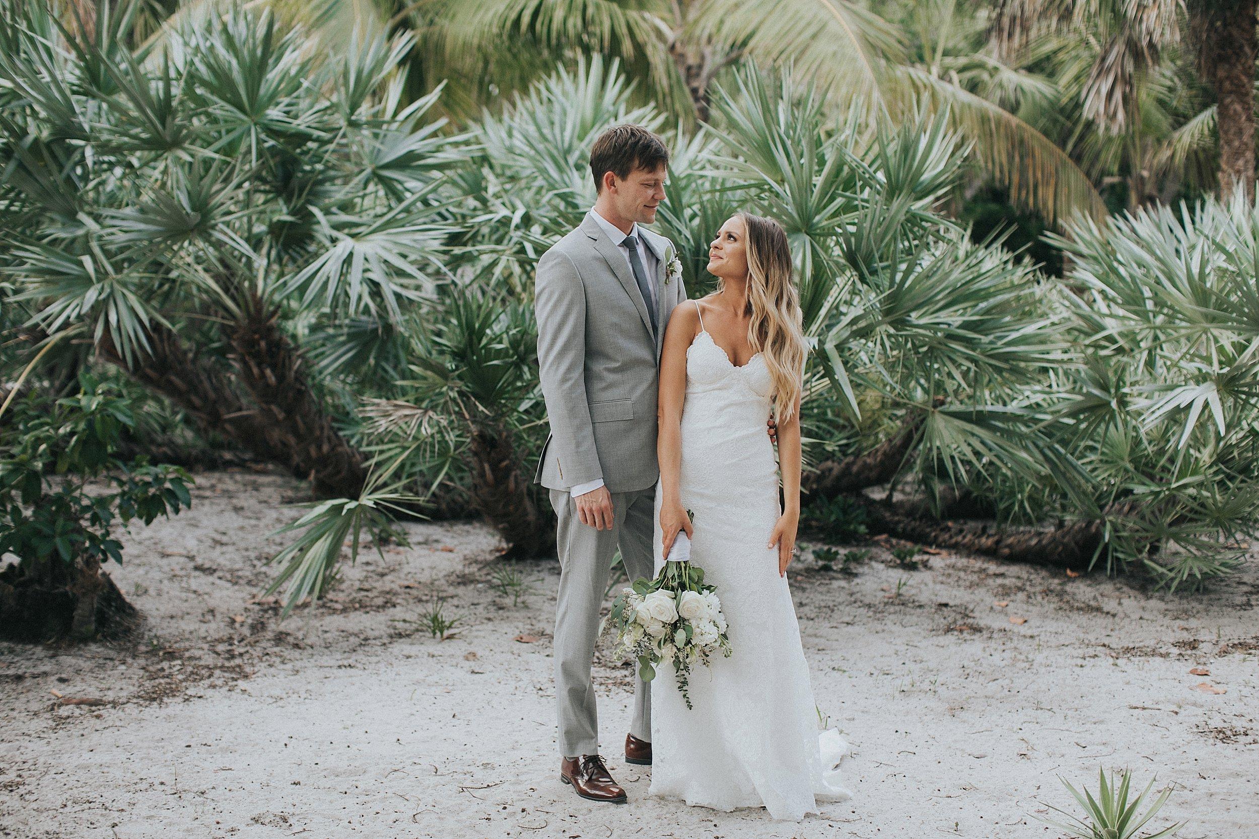 tropical wedding florida