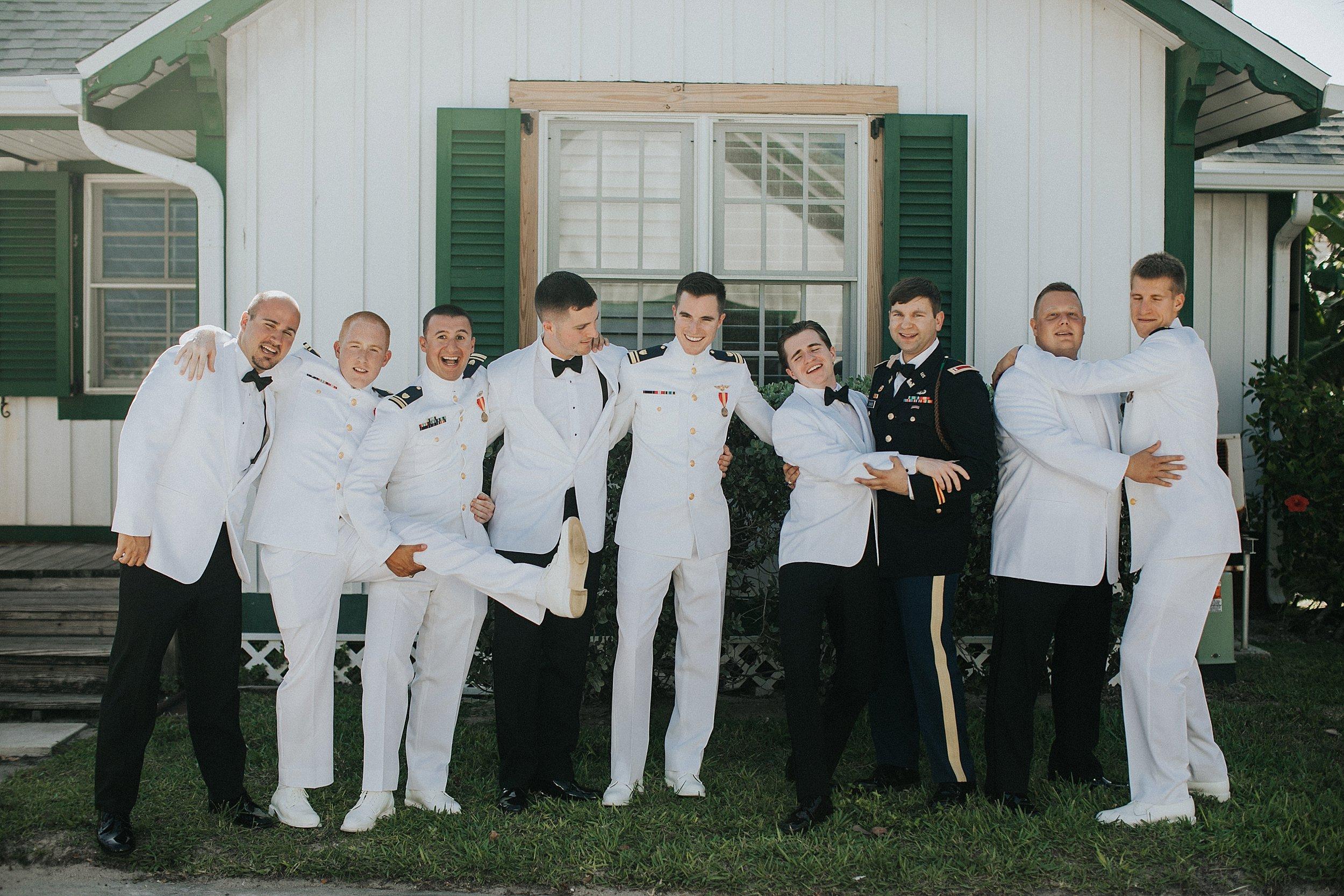 coast guard wedding