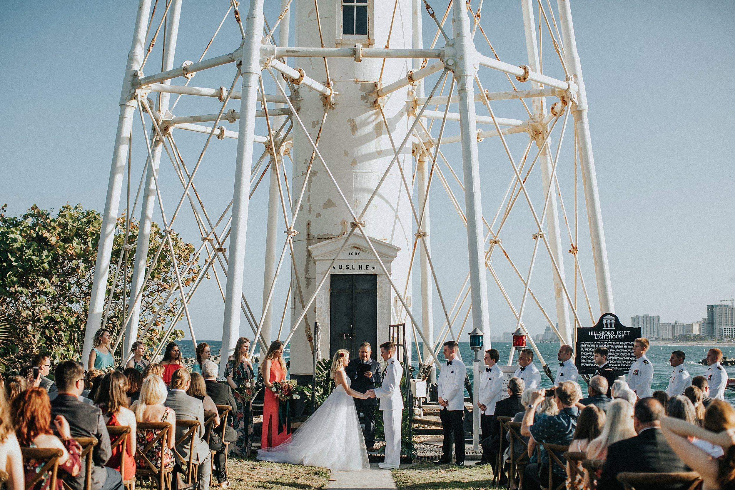 florida lighthouse wedding