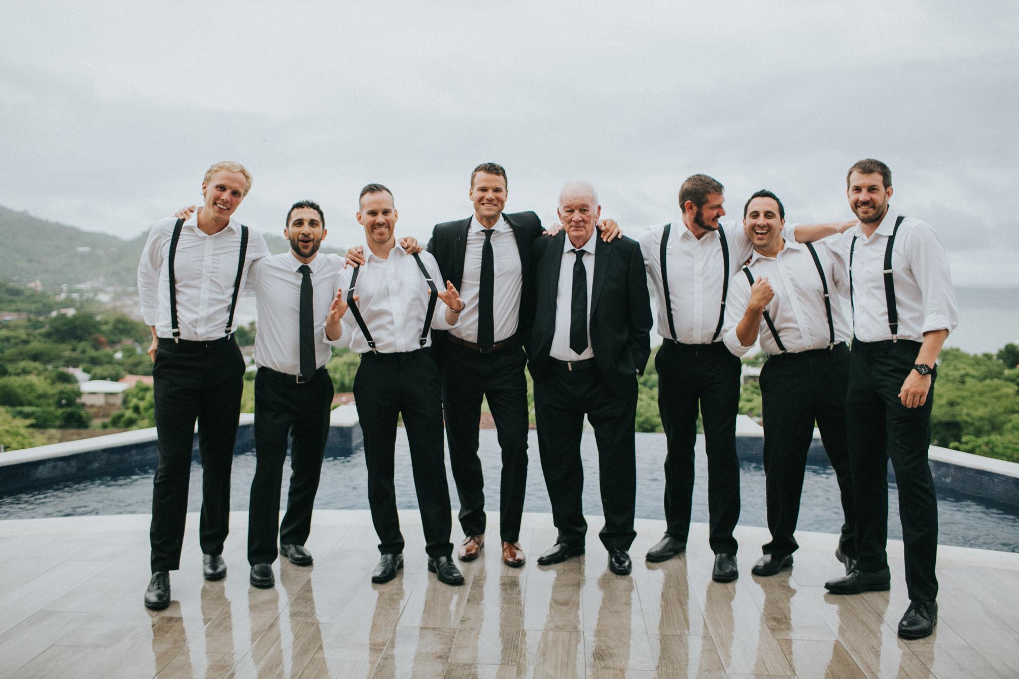 groomsmen portraits