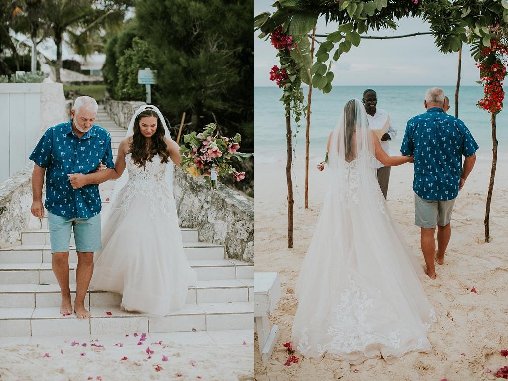 Eluethera beach wedding