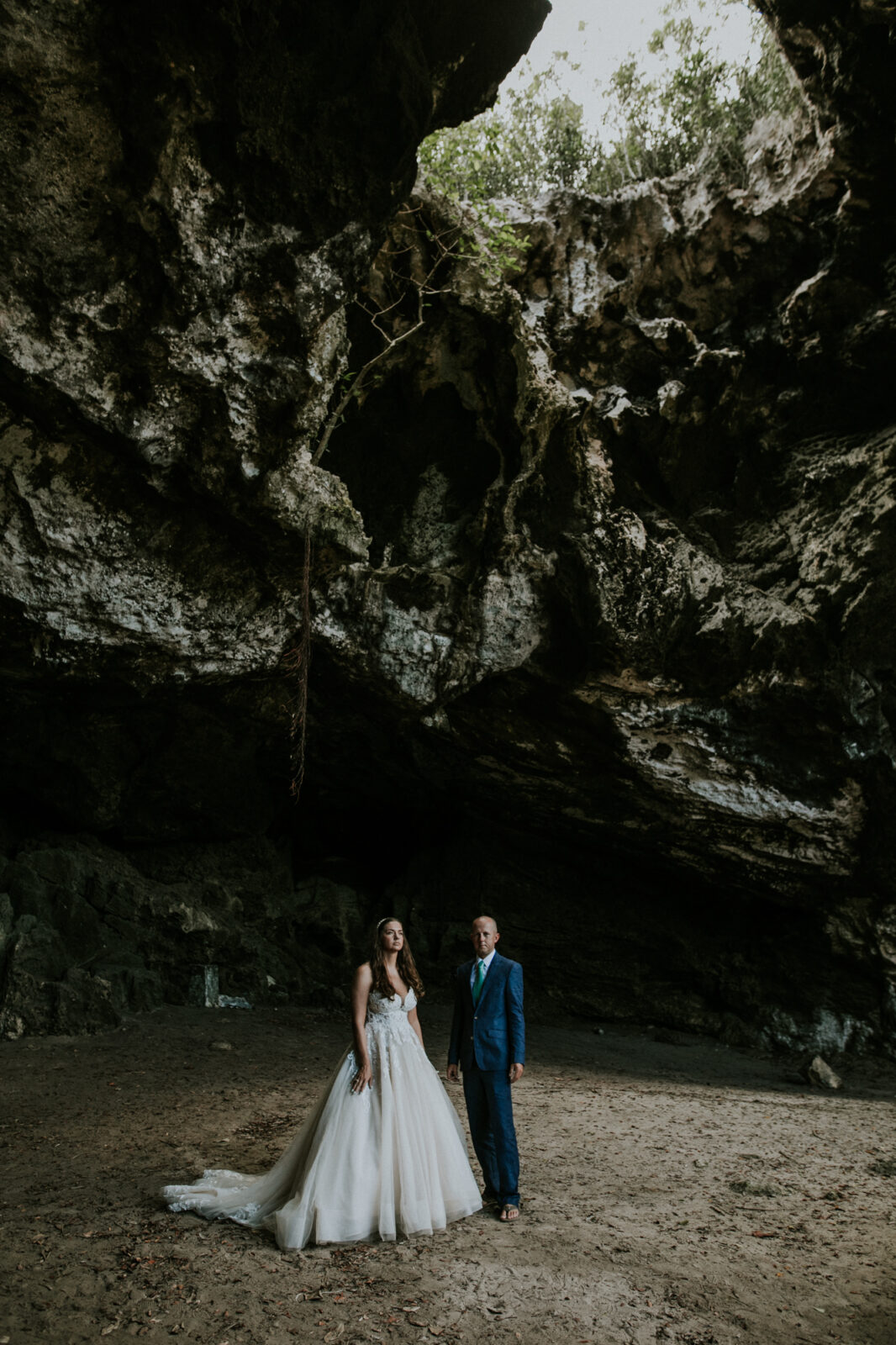 eleuthera elopement at preachers cave