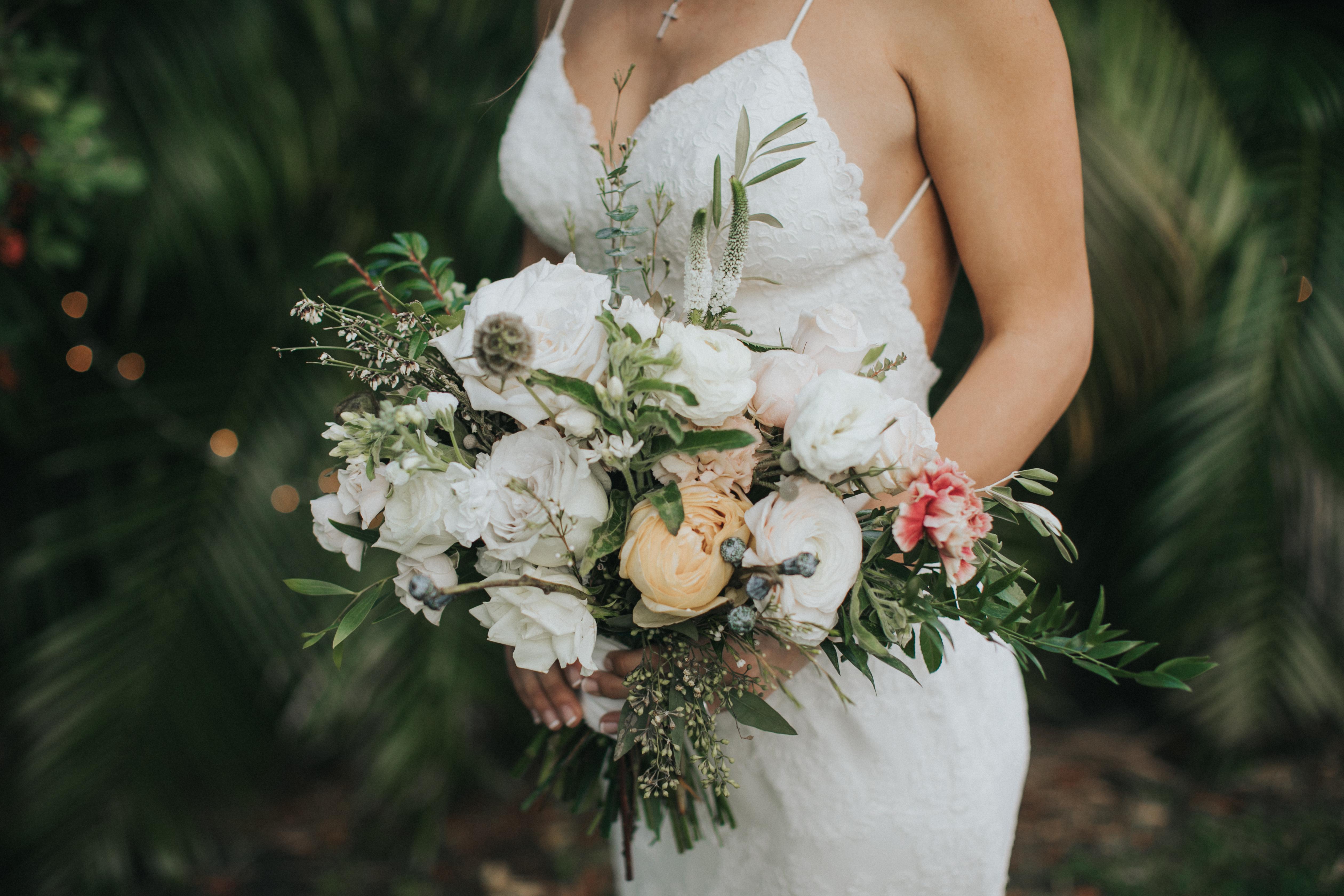 wedding floral bouquet florida