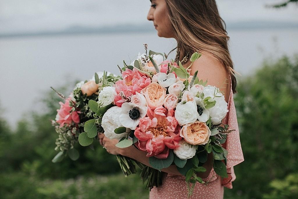 pastel bridal florals