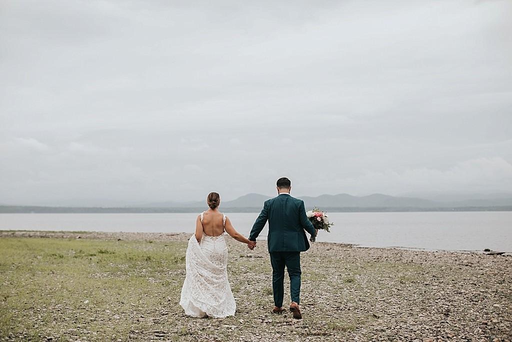 lake champlain summer elopement