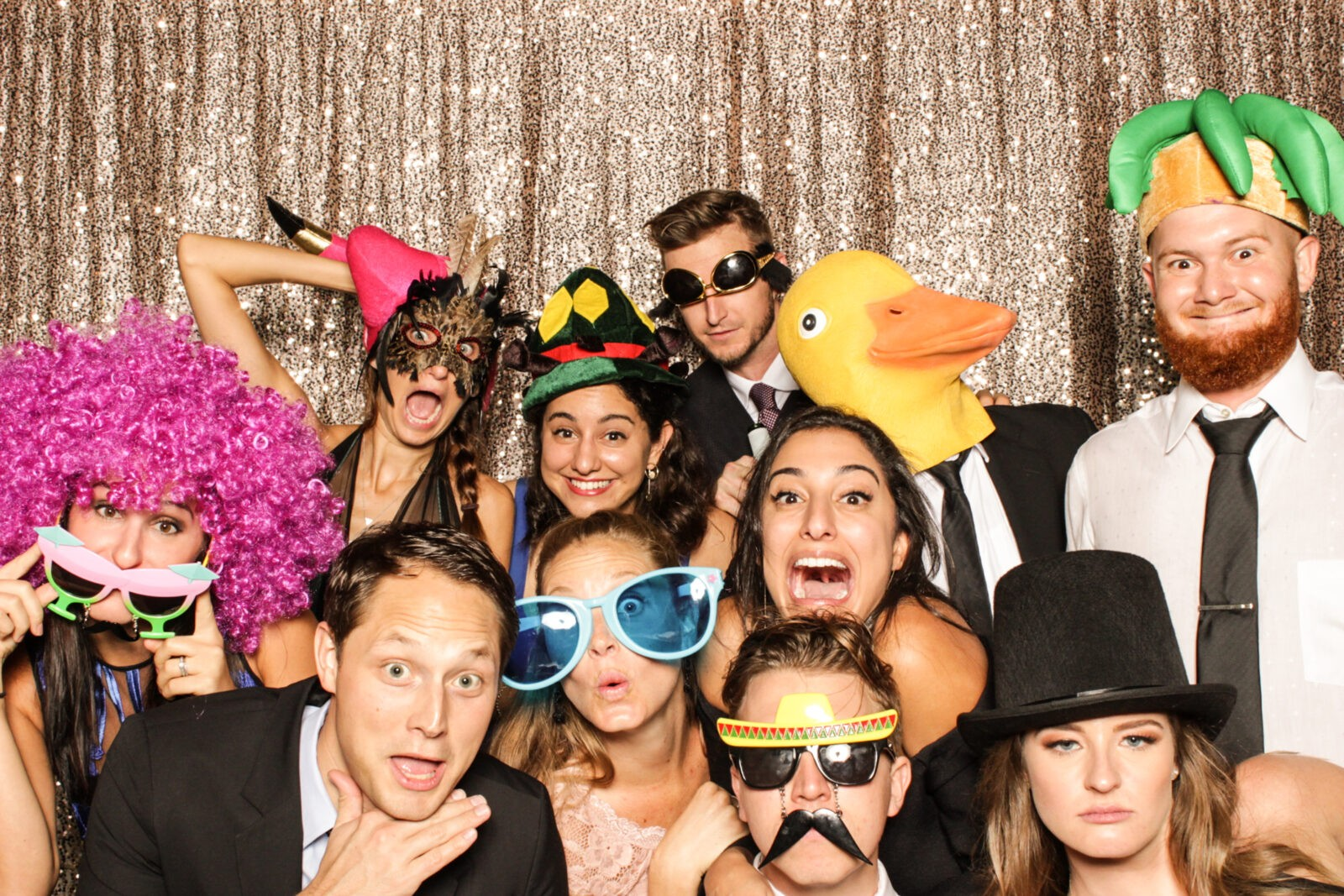 south florida wedding photo booth