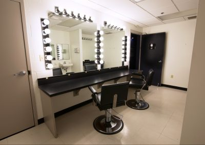 Makeup room for Features