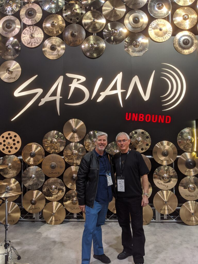 NAMM 2020 SABIAN Mark Love Garden District Band David W. Hansen