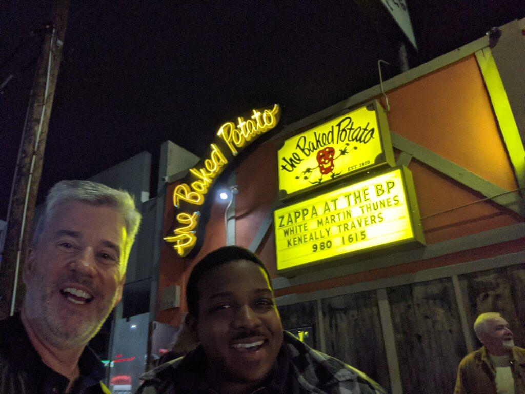 NAMM 2020 Baked Potato - David W. Hansen and Jordan Baker of the Garden District Band (New Orleans)