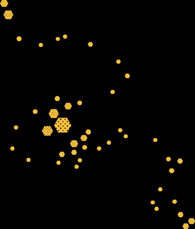 Particles Hexagon