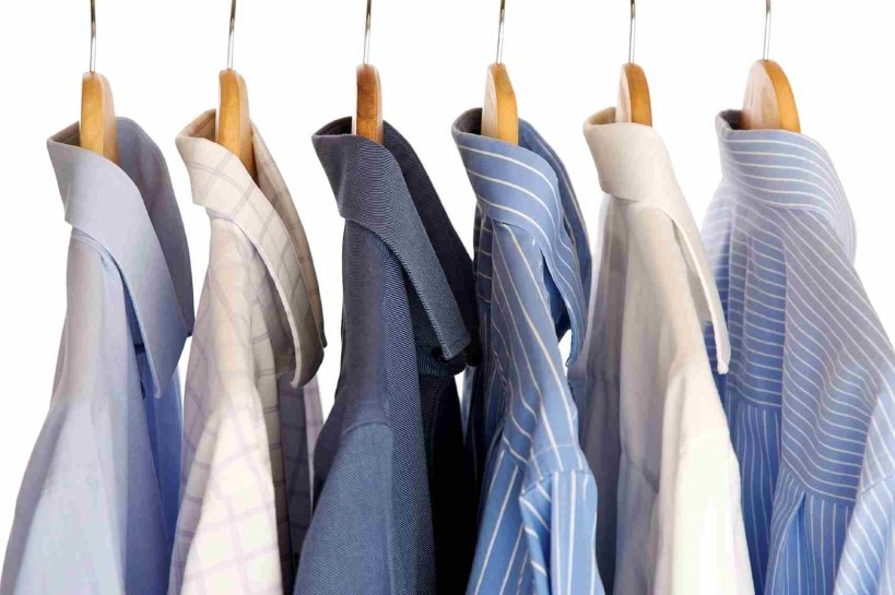 shirts hanging