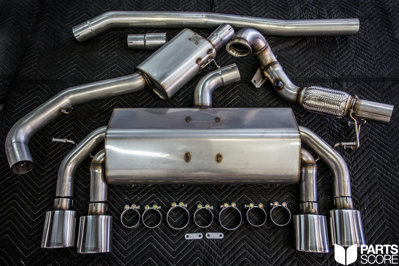 Milltek Sport Exhaust for the 2016 Golf R GIAC Tune