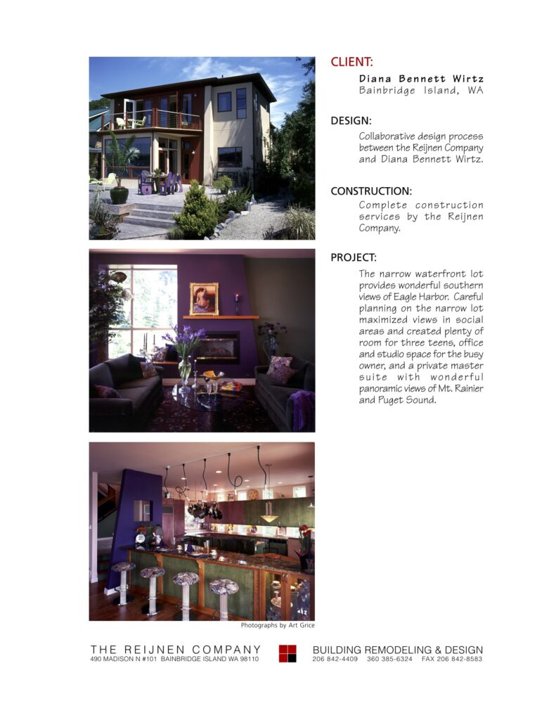 Portfolio Page Wirtz