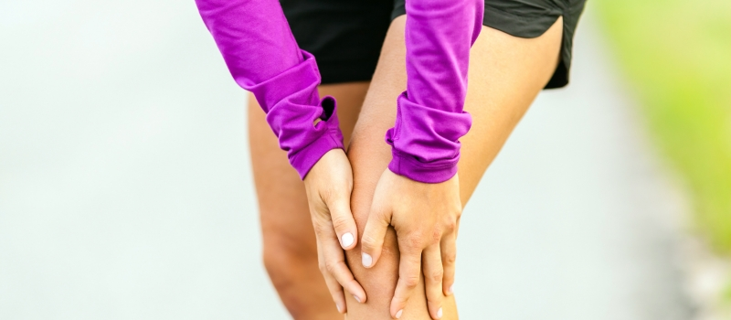 Physical injury, running knee pain