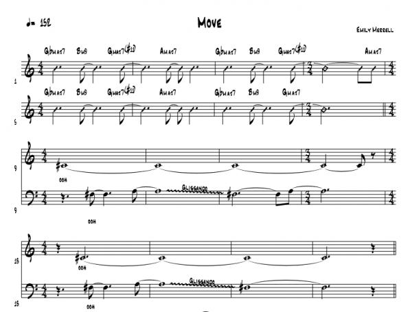 Move - SATB+Rhythm
