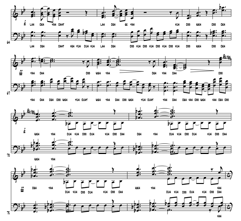 Embark - SATB+Rhythm