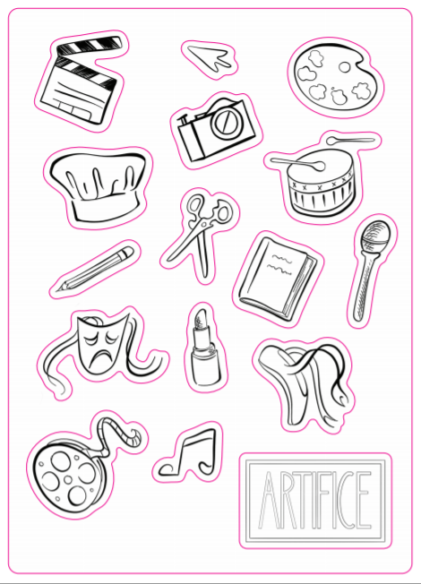 Artifice Stickers