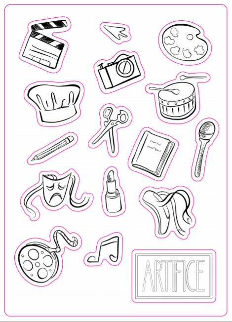 Artifice Stickers