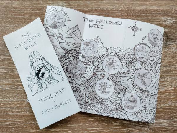 The Hallowed Wide CD + Map