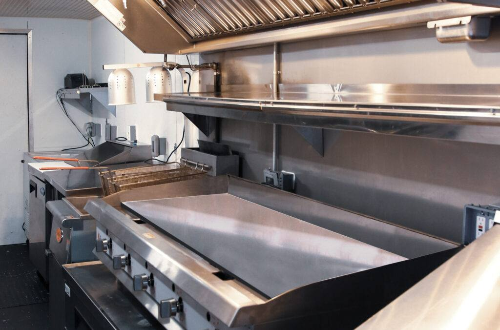 food truck flat top griddle