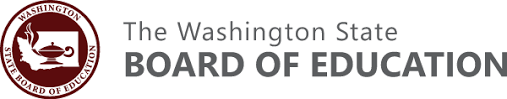 The Washington State Board of Education Logo