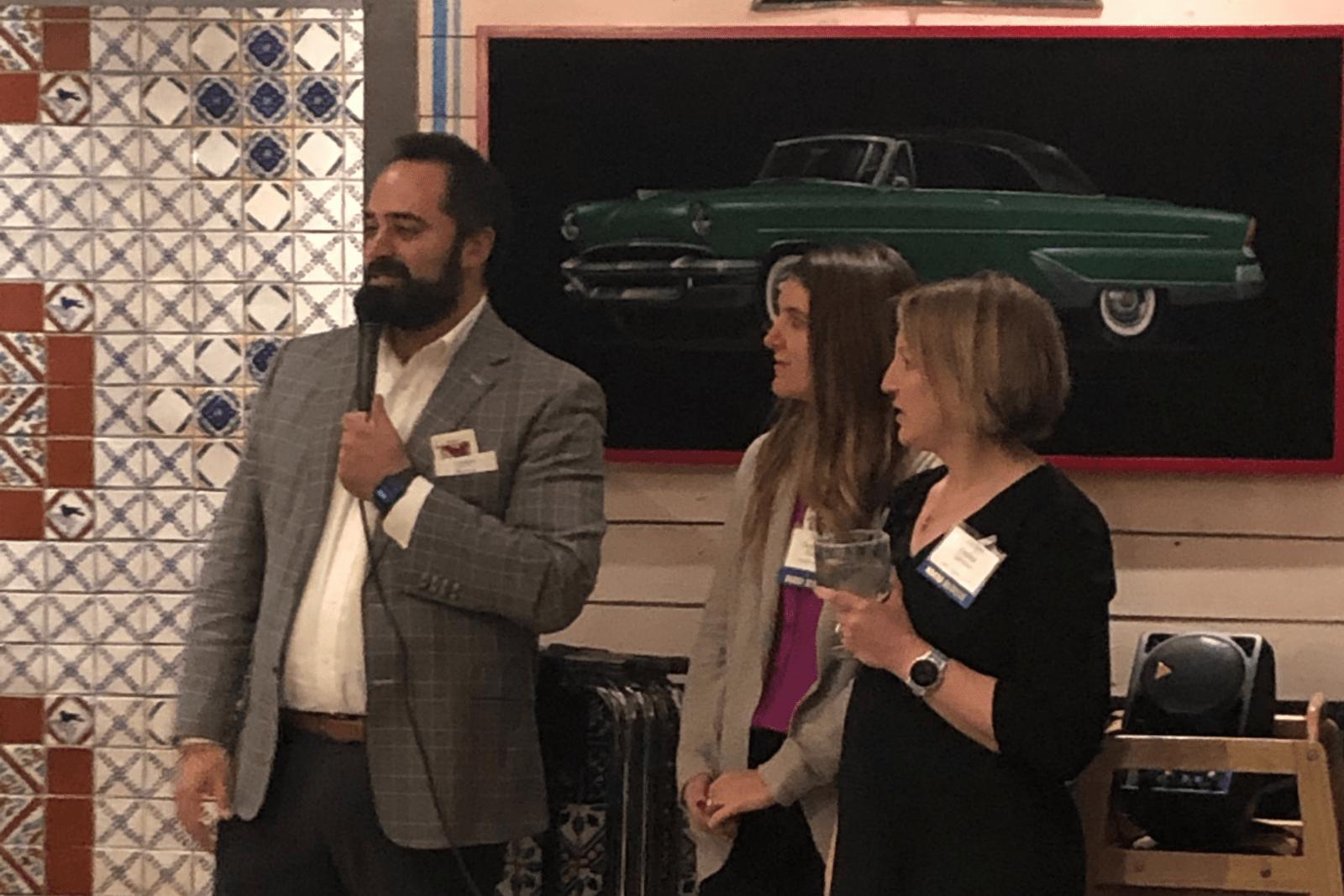 Porya Mansorian Speaking At Colorado Bar Association Event