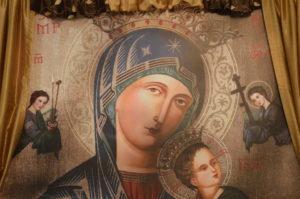 Saint Mary Background