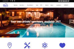Sparkle Pools Inc. Website