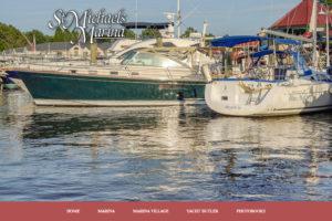 St. Michaels Marina Website