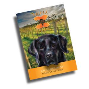 Triple Creek Wine Label