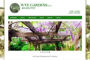 Wye Gardens Website