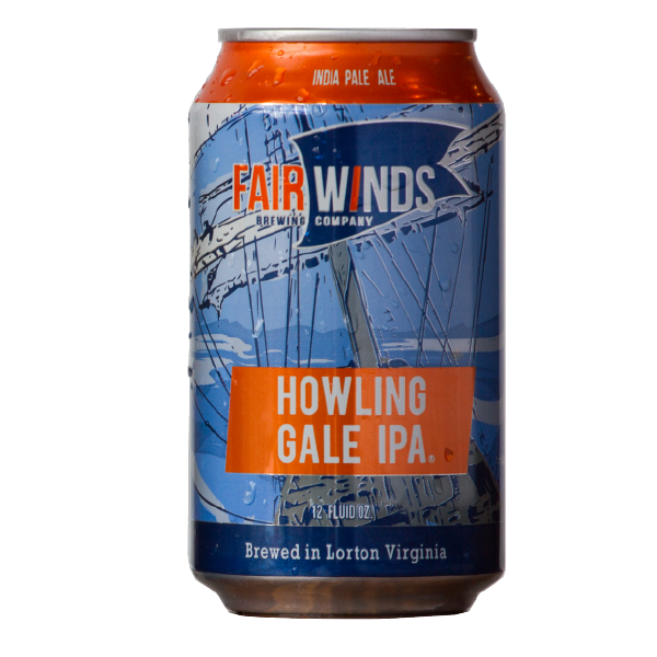 Beer Marketing: Can design by Diving Dog Creative for client Fair Winds Brewing Company