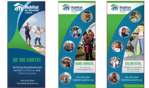 Habitat for Humanity Event Banners