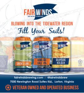 Fair Winds Brewing Magazine Ad